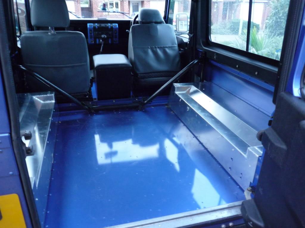 Land Rover Defender 90 Rear Bench Seats