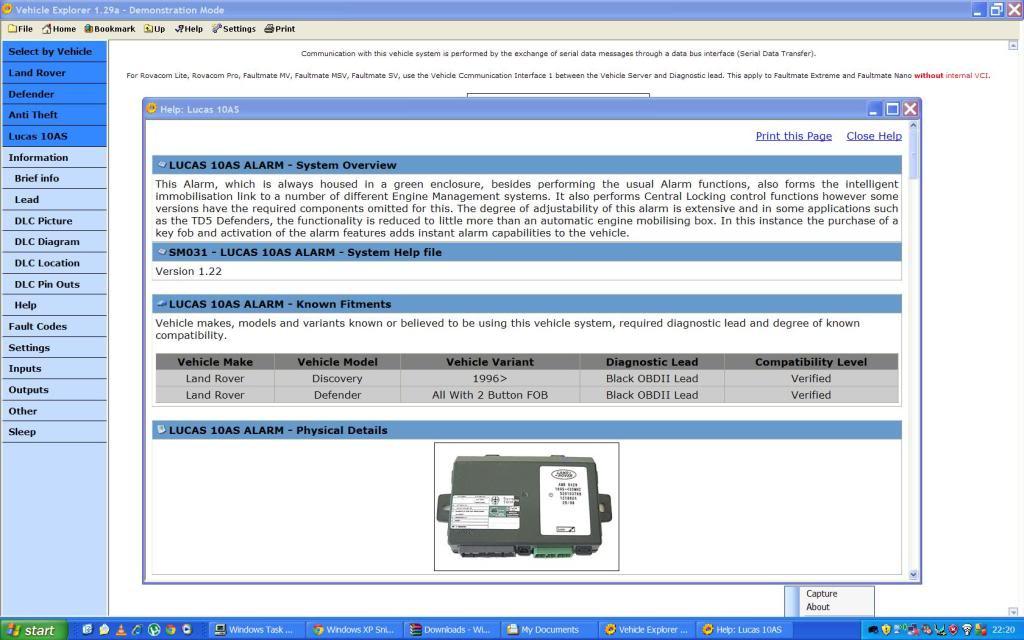 DEFENDER2 NET - View topic - Diagnostics for the Puma