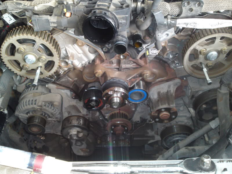 land rover discovery oil pump replacement