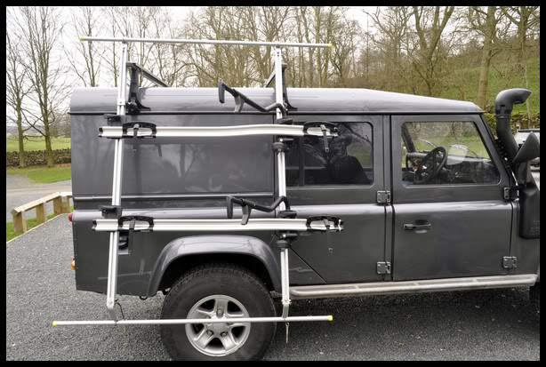 Defender2 Net View Topic Carrying Bikes When Towing