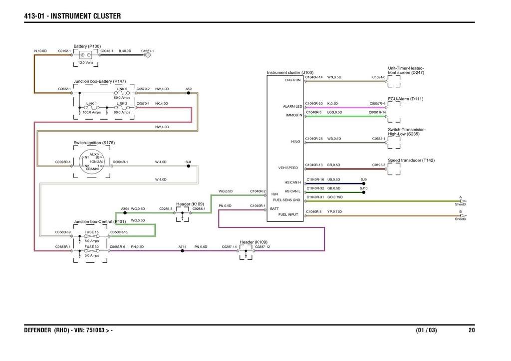 defender td5 wiring diagram controller wiring diagram