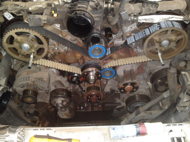 Disco3couk View Topic Tdv6 Timing Belt How To