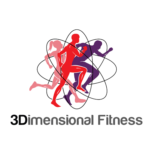 Three Dimensional Fitness Logo