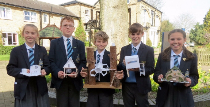 a-group-of-year-6-pocklington-prep-school-pupils-with-their-living-pod-designs-1490177182