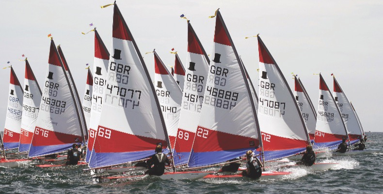 Lucy Gates has worked her way up through the various RYA squads