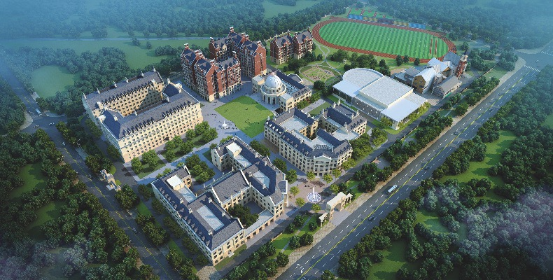 The new Xinjin Campus, Malvern College Chengdu
