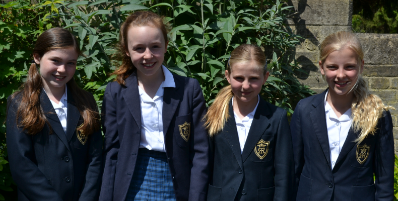 Emily Brunt, Alexis Kennedy, Elena Sheehan and Sadie Pollock