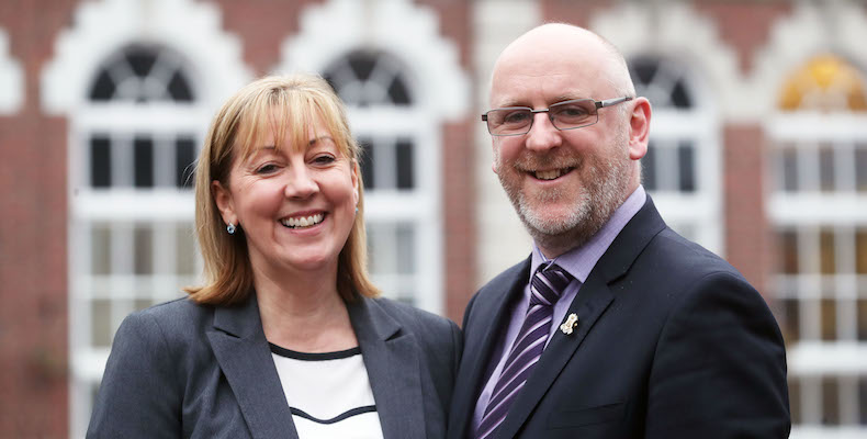 Karen and Paul Norton are a husband-and-wife team at the helm of Kings Monkton School in Cardiff