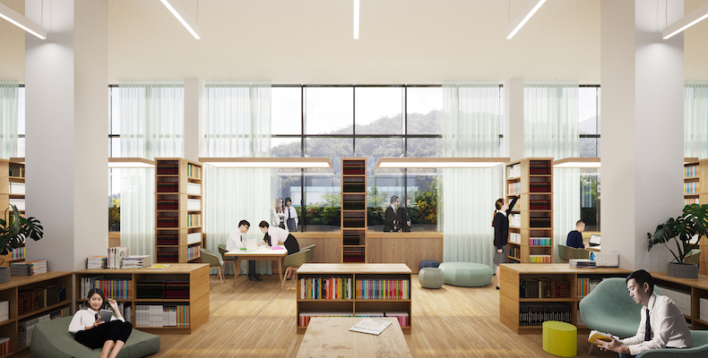 Staff will be encouraged to use the library to break up time spent in the classroom