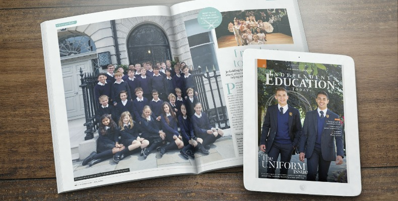 The October issue of Independent Education Today is now available to read online