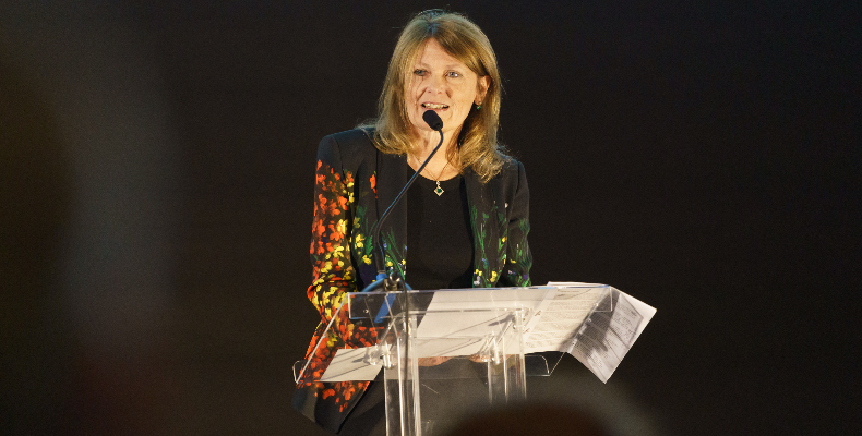 Fiona Boulton, chair of HMC and head of Guildford High School, made a passionate opening speech