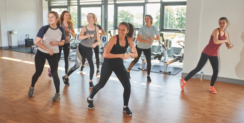 A new dance studio at The Grange School can accommodate all dance types – from ballet to different exercise classes
