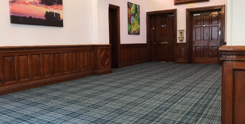 A number of Danfloor's ranges include an innovative antimicrobial yarn treatment