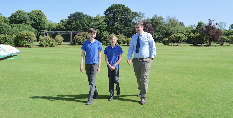 School celebrates record numbers of boarding pupils Bertie Campbell-Baldwin (Head of Boarding)