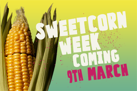 It's time to face the heat sweetcorn!
