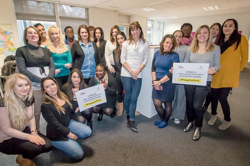 Journée de la femme CPM France
