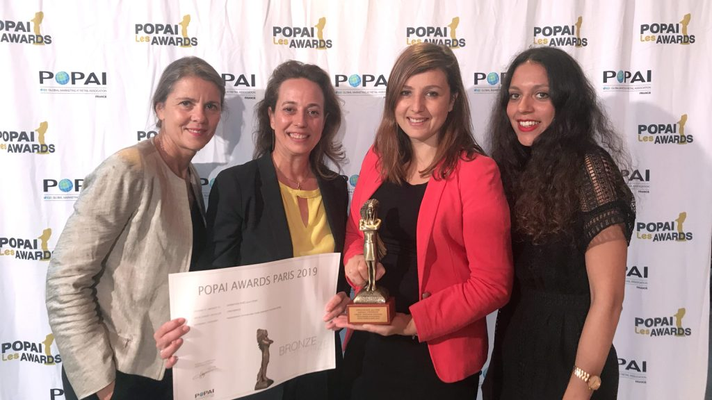 Popai Awards Bronze Cewe