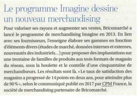 programme Imagine pour Bricomarché