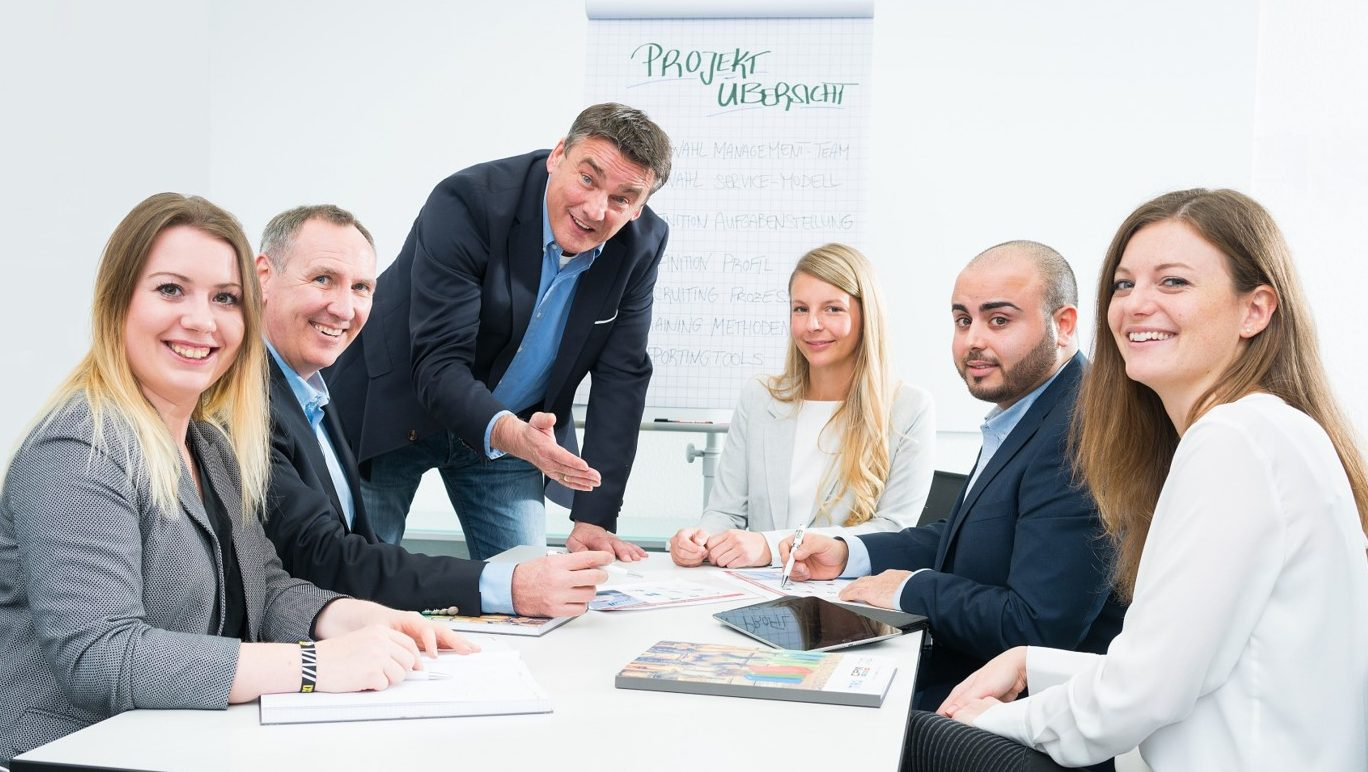 Unsere Menschen bei CPM - Leasing Sales Force Mitarbeiter