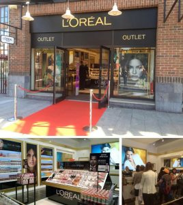 CPM Frankreich L'Oreal Pop-up in Paris