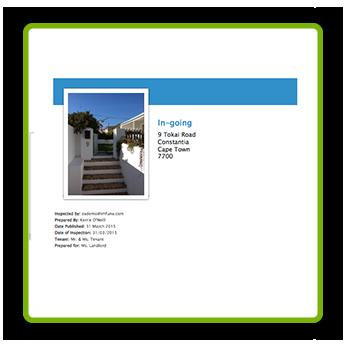 Sample Report - In-going Report