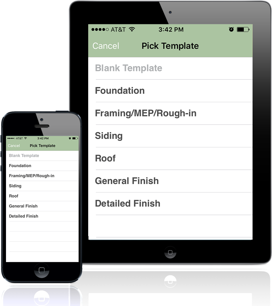Imfuna Construction Inspector app for smartphones and tablets