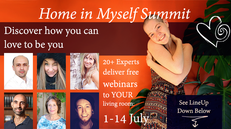 The Home in Myself Summit - Free webinars from 20+ experts to help you feel more at home in yourself.