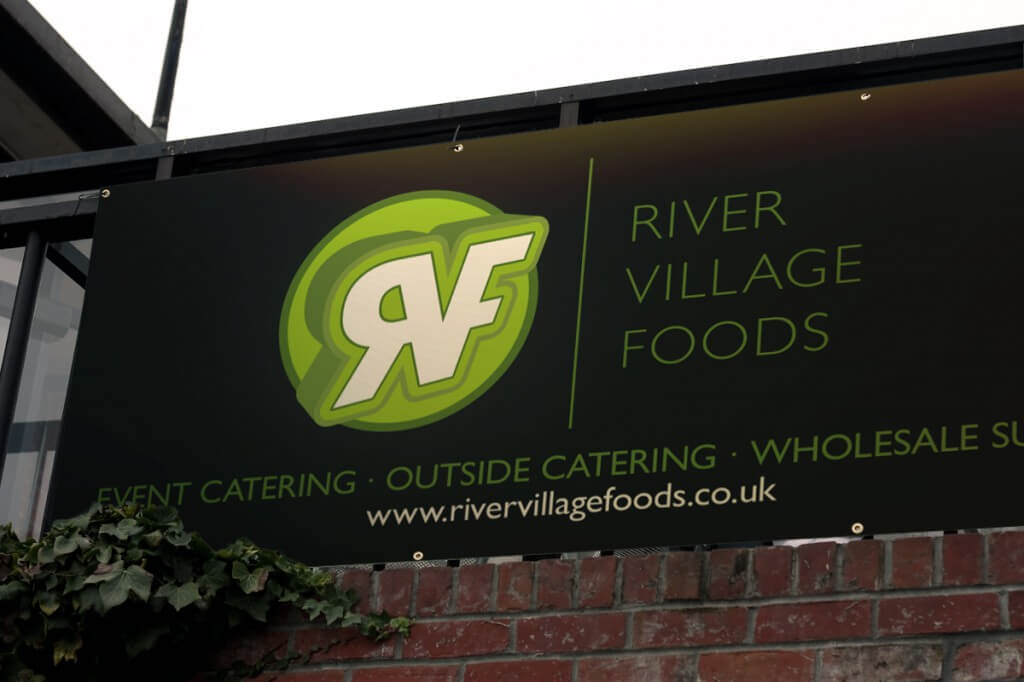 River Village Foods banner