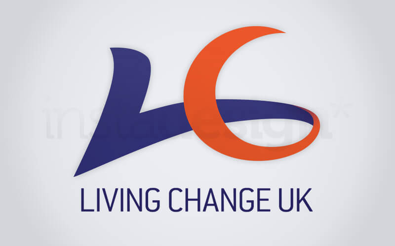 Logo for Living Change UK