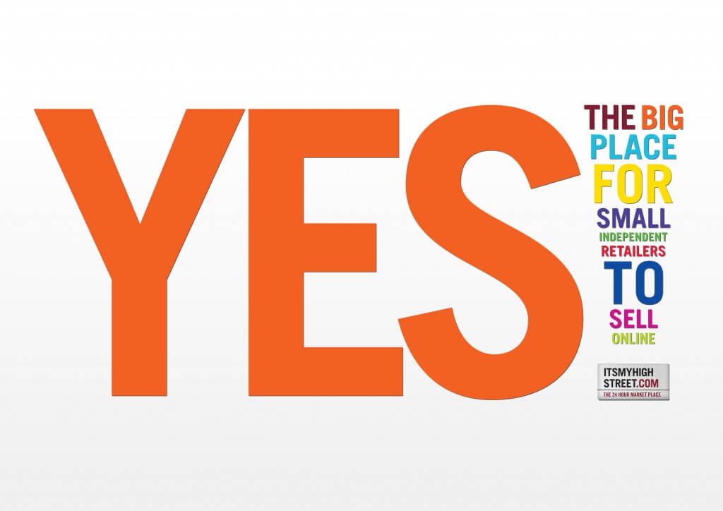 itsmyhighstreet.com Teaser Flyer