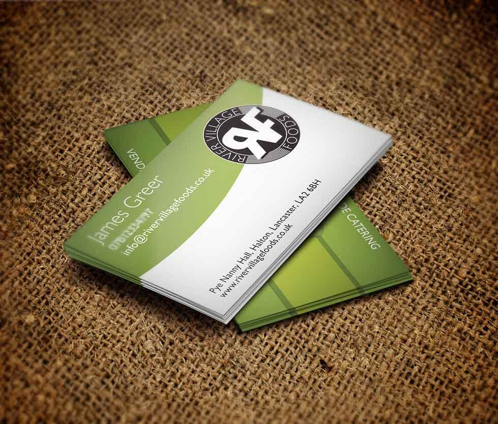 River Village Foods Business Card