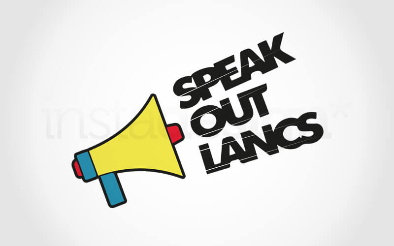 Speak Out Lancashire logo