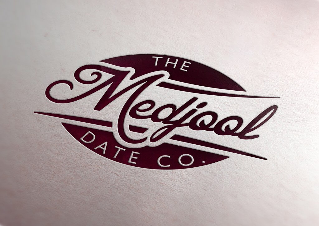medjool website company logo embossed
