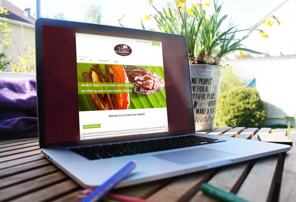 The Medjool Date Company website