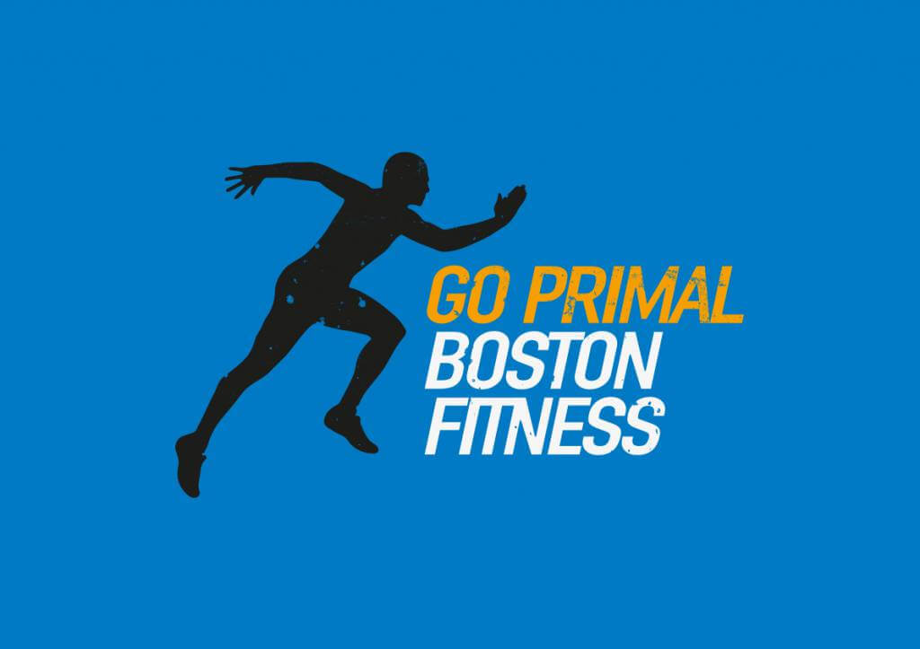 Instadesign | Go Primal Boston Fitness logo colour texture