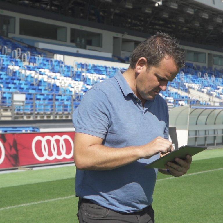 paul burgess head of grounds and environment real madrid club de futbol la liga