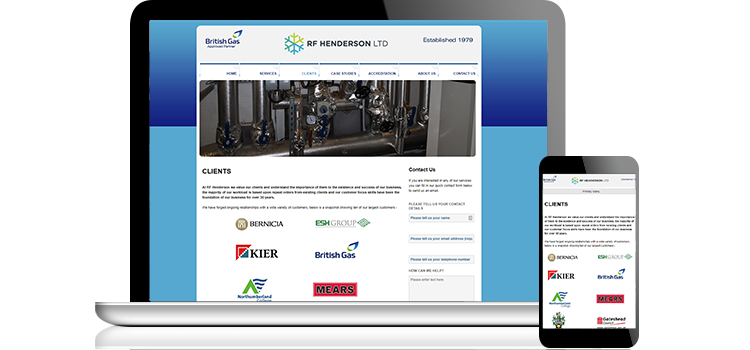 Case Study: Making an existing site Responsive/Mobile Optimised