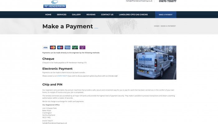 rf paymeny page