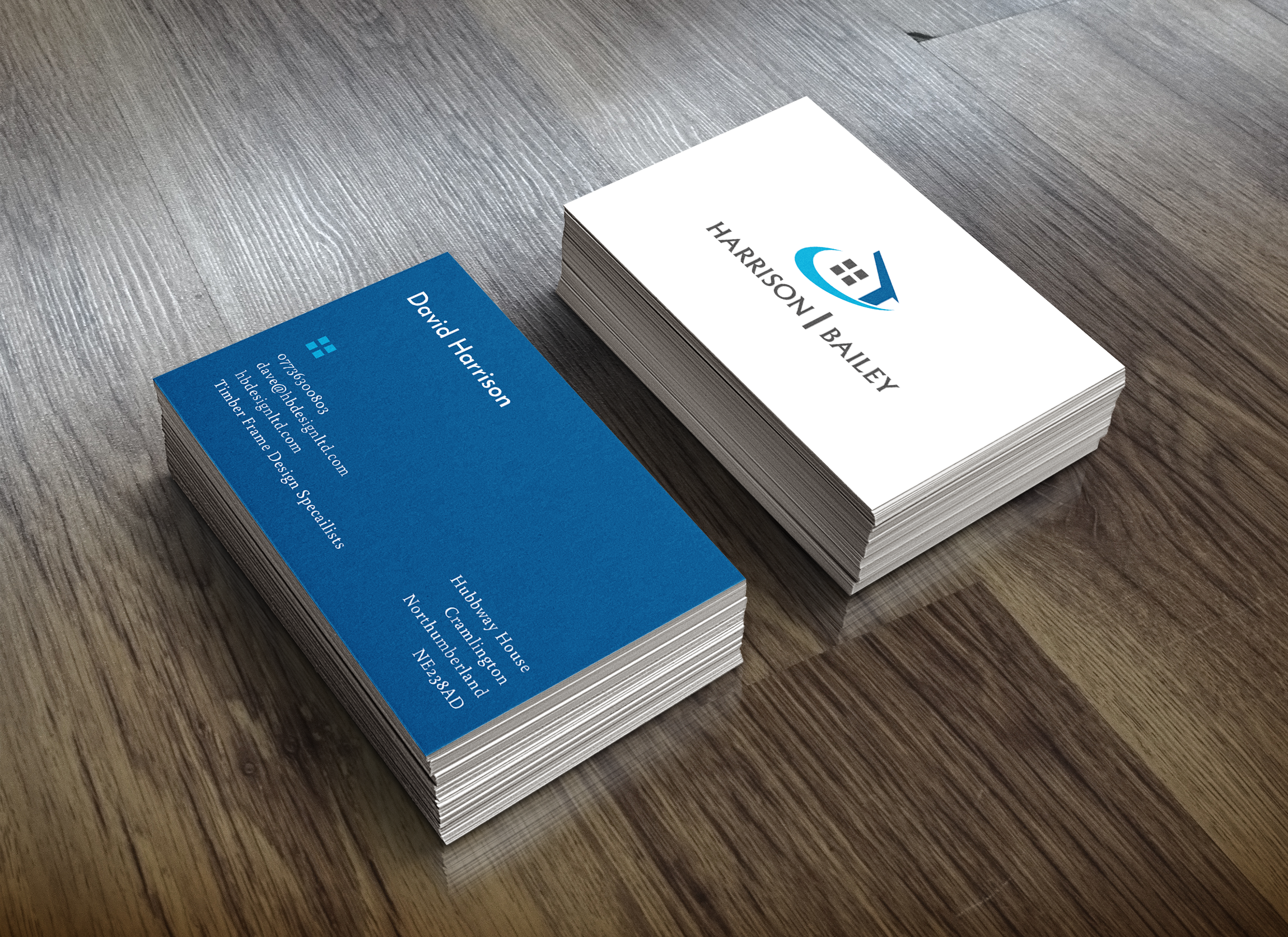 HB Designs Business Cards