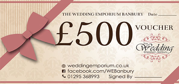 The Wedding Emporium Banbury Five Hundred Pound Voucher