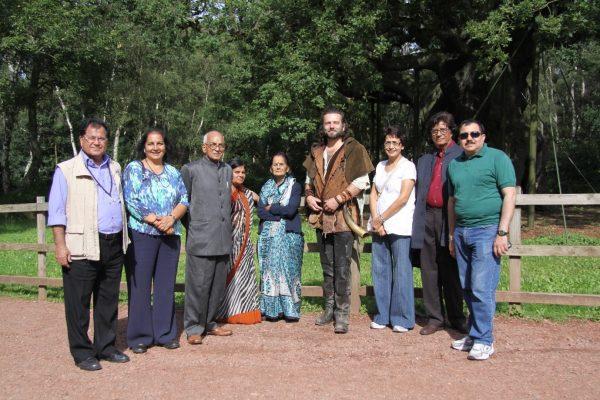 Poets visited Sherwood Forest
