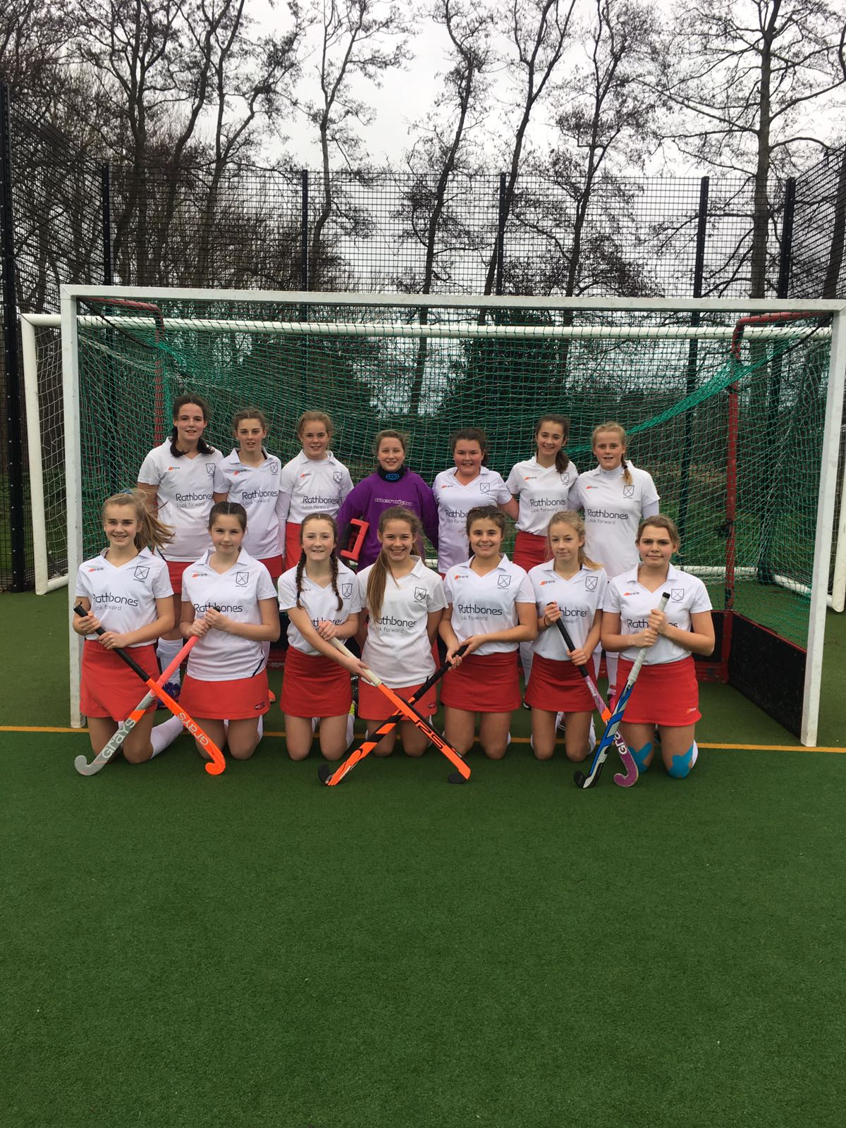 Under 14s girls beat Guernsey 7-0