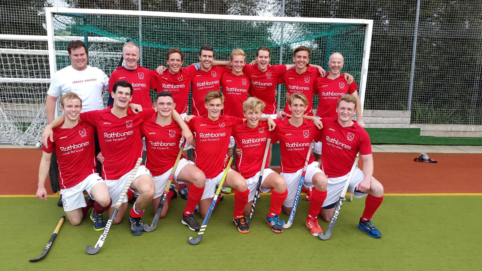 England Hockey Men's Trophy Round One  Jersey win 4 - 1 on penalty strokes