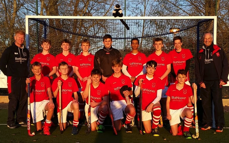 Double victory for U16s boys in England Hockey Championships