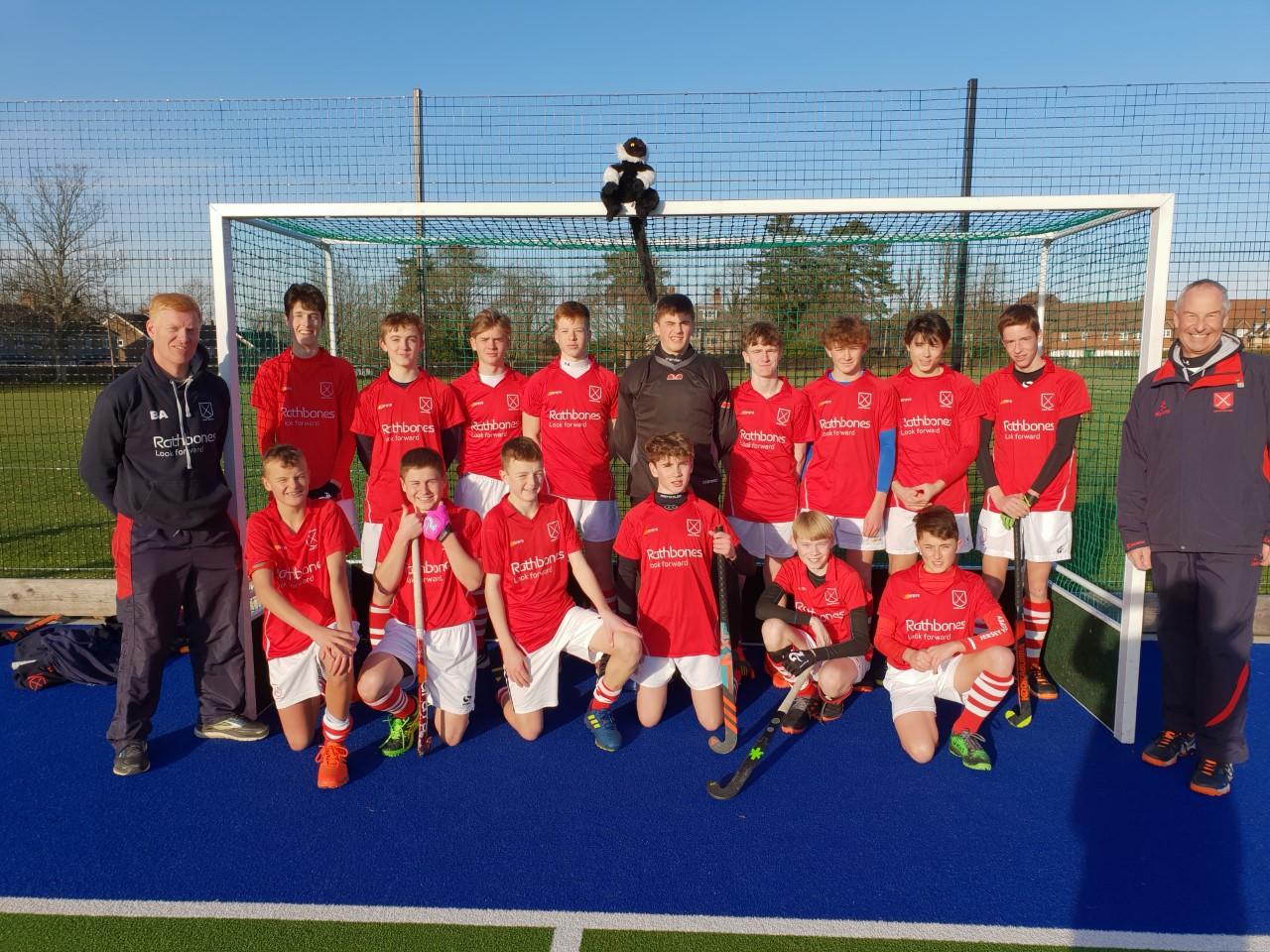Boys U16s  EH Junior Championships  – Jersey v Horsham & v Reigate Priory