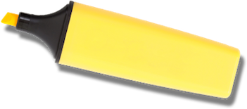 yellow marker