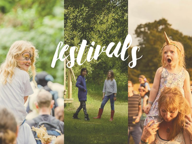 Festivals feature: Families tell us what they love about festivals around the UK