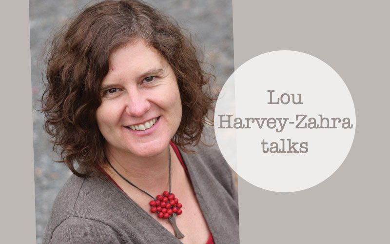 Lou Harvey-Zahra UK talks this June