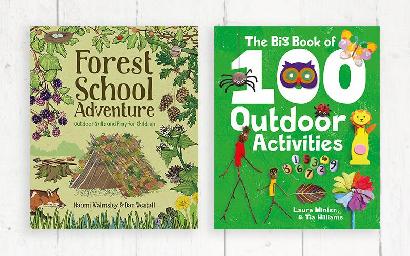 ENDED: WIN a set of outdoor activity books