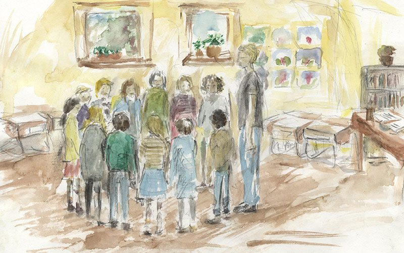 On the way to school: Richard Brinton reflects on school starting age